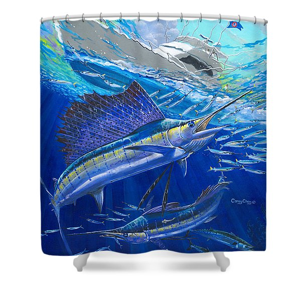 Out Of Sight Shower Curtain