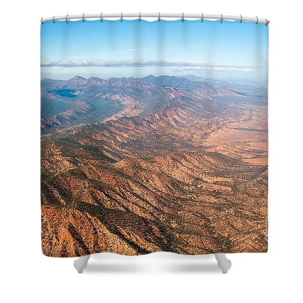 Outback Ranges Shower Curtain