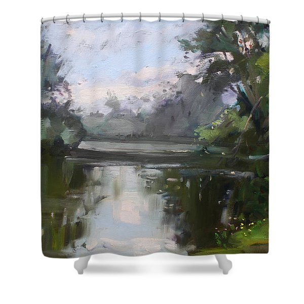 Outdoors At Hyde Park Shower Curtain