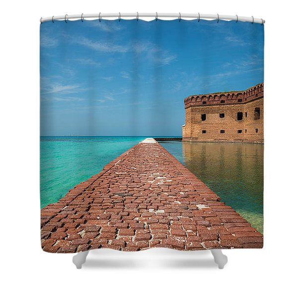 Outer Walk Shower Curtain