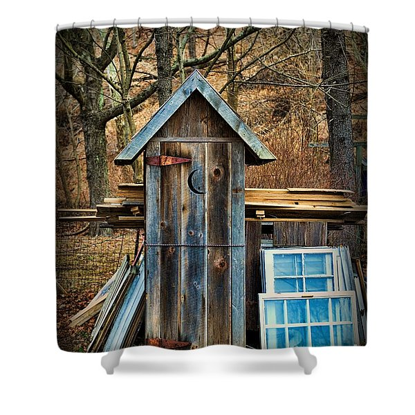 Outhouse - 5 Shower Curtain