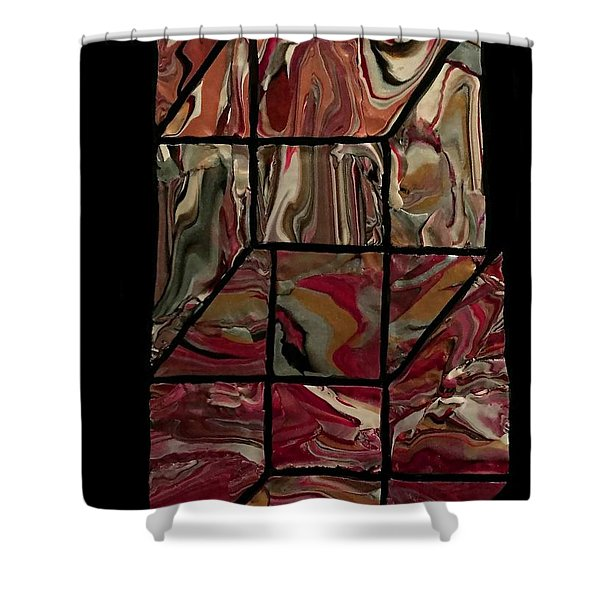 Outside The Box II Shower Curtain