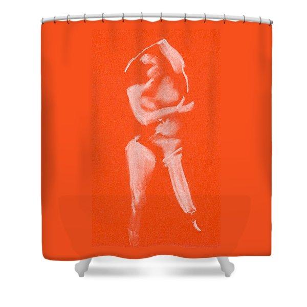 Over Head Ovan Huvud Shower Curtain