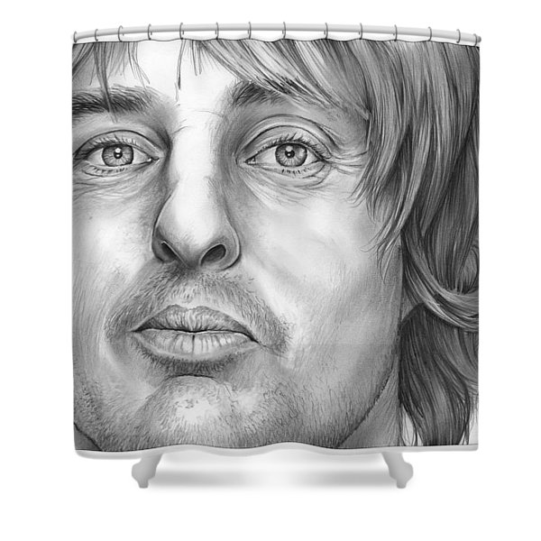 Owen Wilson Shower Curtain