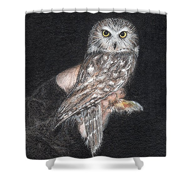 Owl Series - Owl 11 Shower Curtain