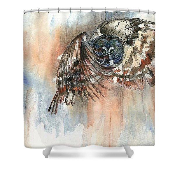 Owl Series - Owl 12 Shower Curtain