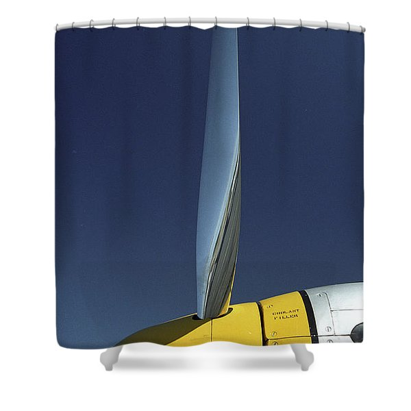 P51 Shower Curtain