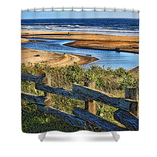 Pacific Coast - 4 Shower Curtain