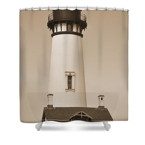 Pacific Coast Lighthouse Shower Curtain