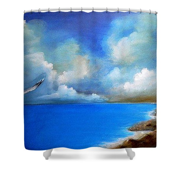 Pacific Highway 1 Shower Curtain