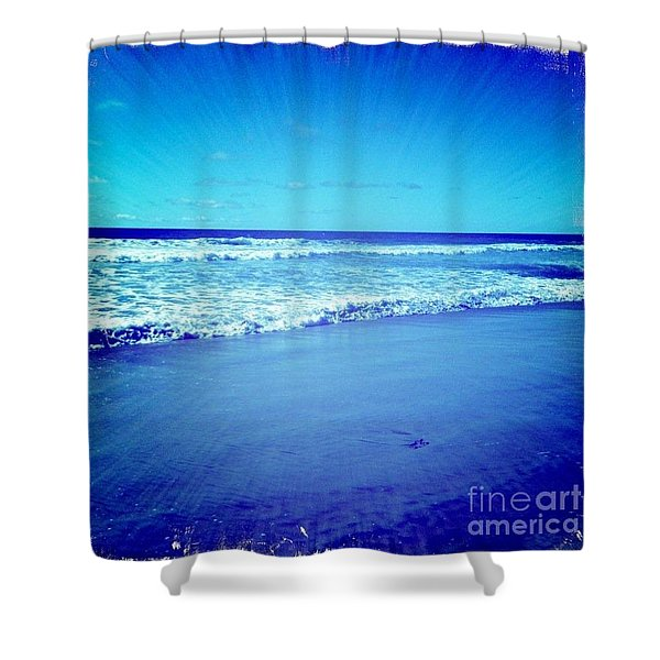 Pacific Rays Shower Curtain