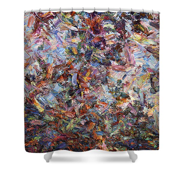 Paint Number 42 Shower Curtain