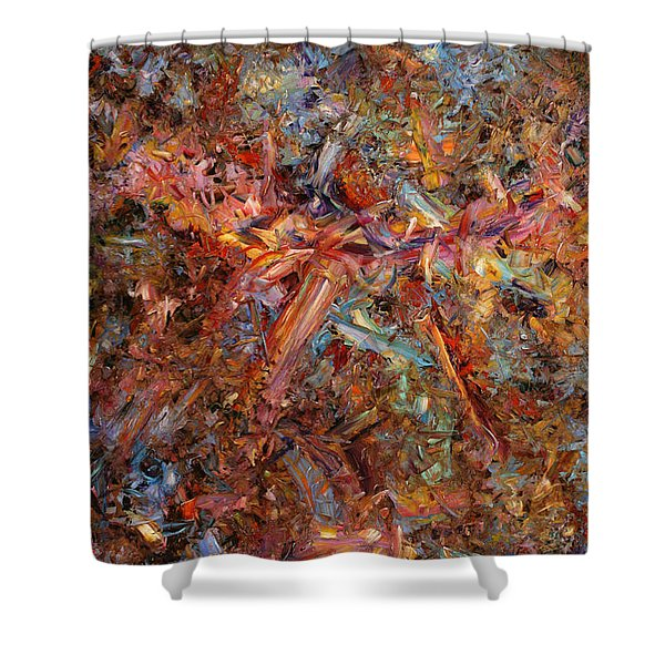 Paint Number 43 Shower Curtain