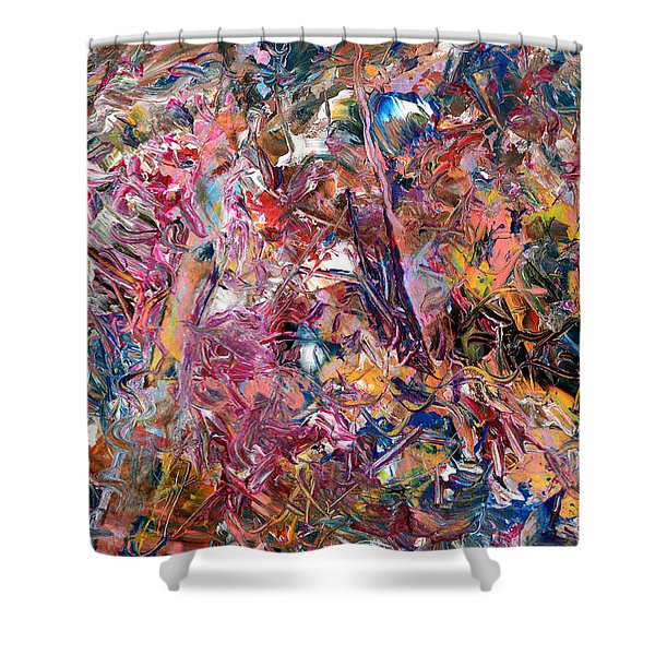 Paint Number 49 Shower Curtain