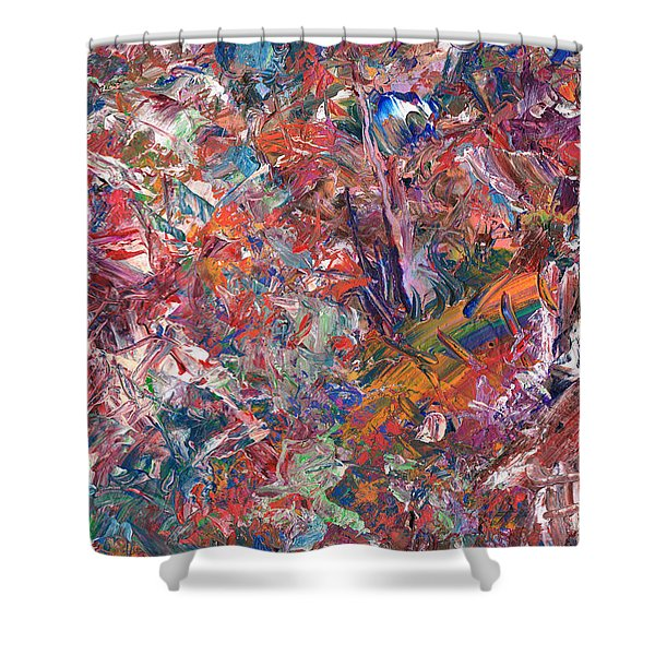 Paint Number 50 Shower Curtain