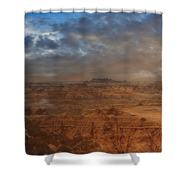 Painted By Nature Shower Curtain