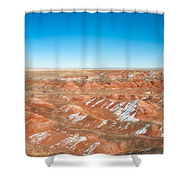 Painted Desert, Petrified Forest Shower Curtain