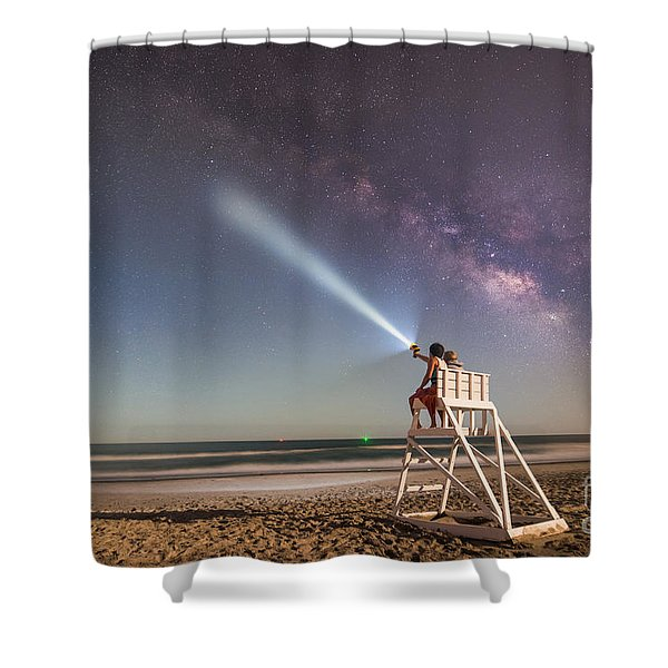 Painting With Light Shower Curtain