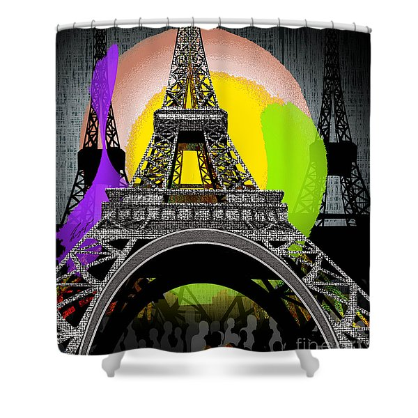 Paree Shower Curtain