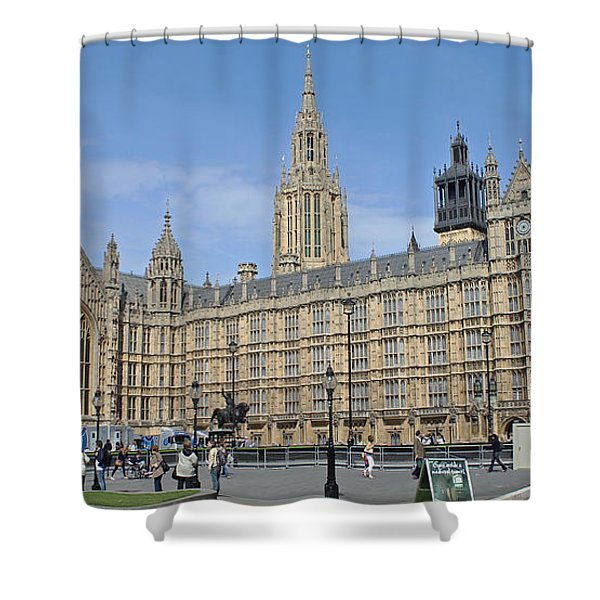 Palace Of Westminster Shower Curtain