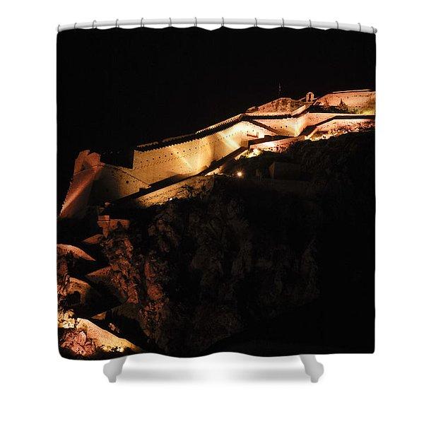Palamidi Fortress Shower Curtain