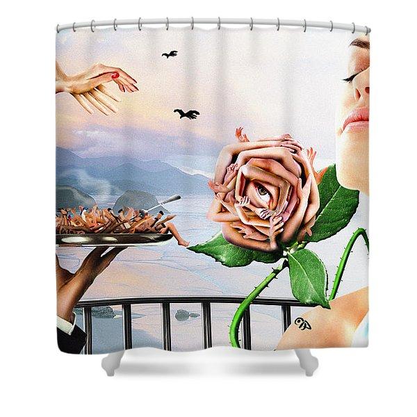 Pamina Shower Curtain
