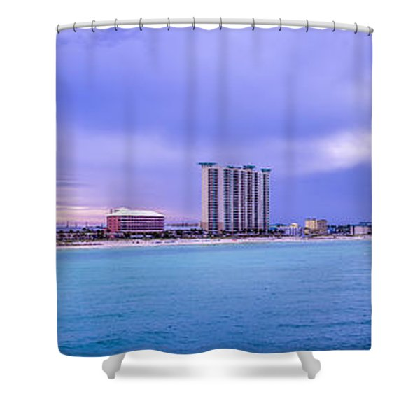 Panama City Beach Shower Curtain
