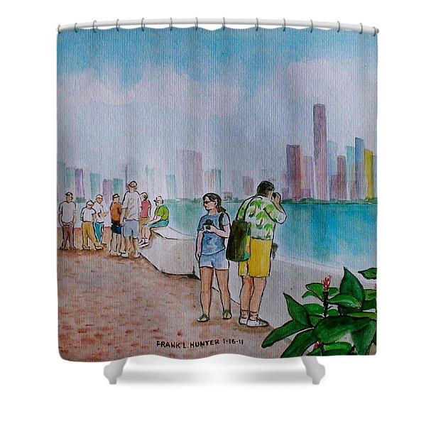 Panama City Panama Shower Curtain