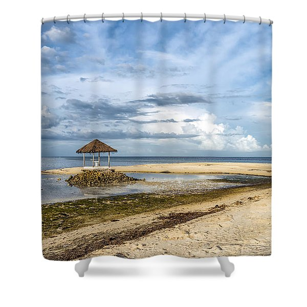 Pandanon Lookout Shower Curtain