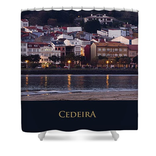 Panorama Of Cedeira Galicia Spain Shower Curtain