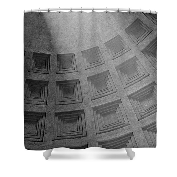 Pantheon Ceiling Shower Curtain