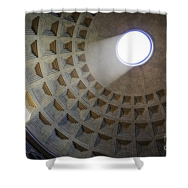 Pantheon Sunbeam Shower Curtain
