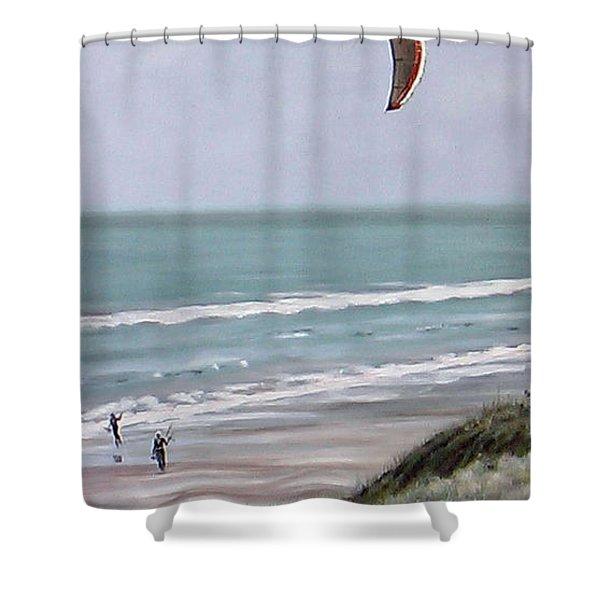Papamoa Beach 090208 Shower Curtain