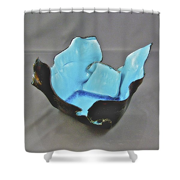 Paper-thin Bowl  09-001 Shower Curtain
