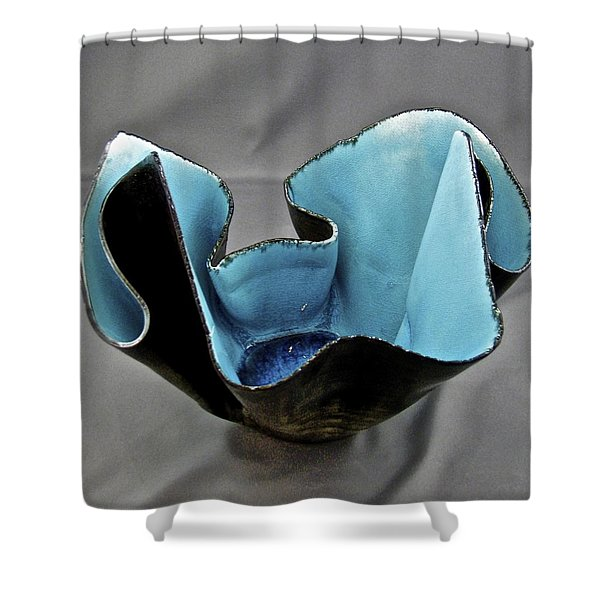 Paper-thin Bowl  09-003 Shower Curtain