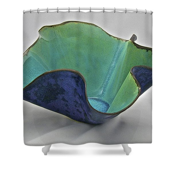 Paper-thin Bowl  09-006 Shower Curtain