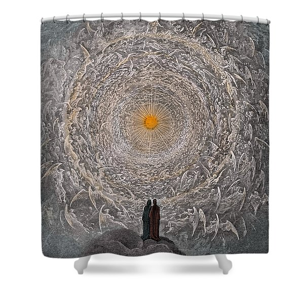 Paradise Canto Thirty One Shower Curtain