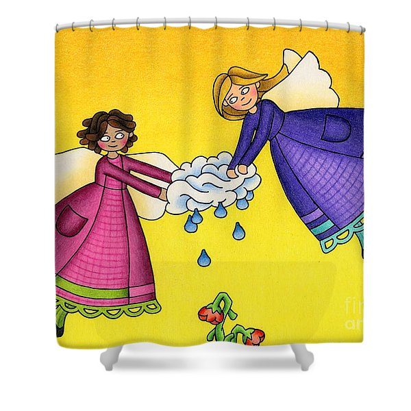 Parched Shower Curtain