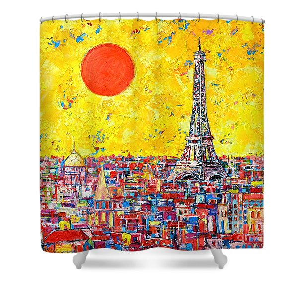 Paris In Sunlight Shower Curtain