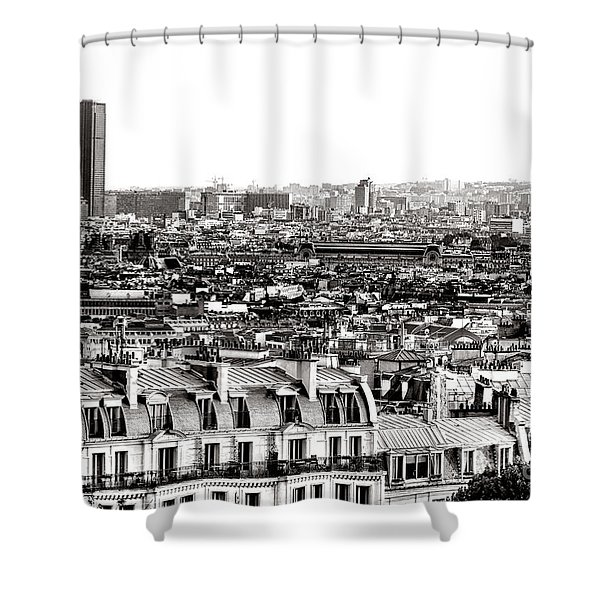 Paris Montparnasse Shower Curtain