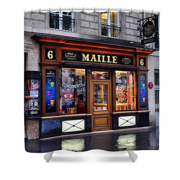 Paris Shop Shower Curtain