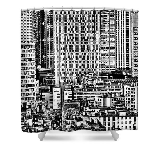 Paris Urban Shower Curtain