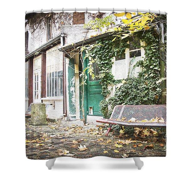Parisian Alley Shower Curtain