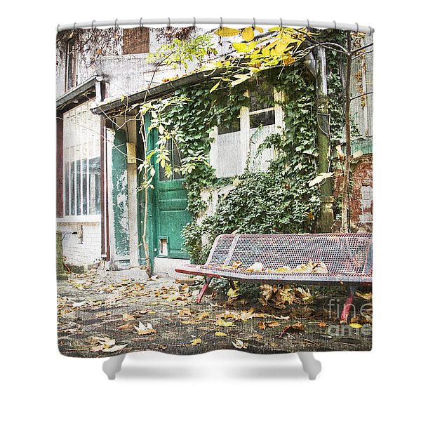 Parisian Alley Shower Curtain