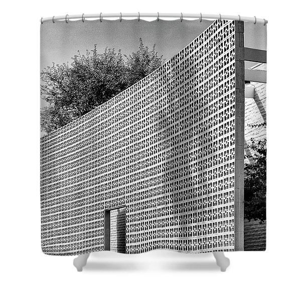 Parker Shadow Palm Springs Shower Curtain