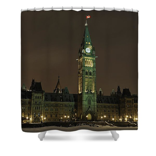 Parliament Hill Shower Curtain