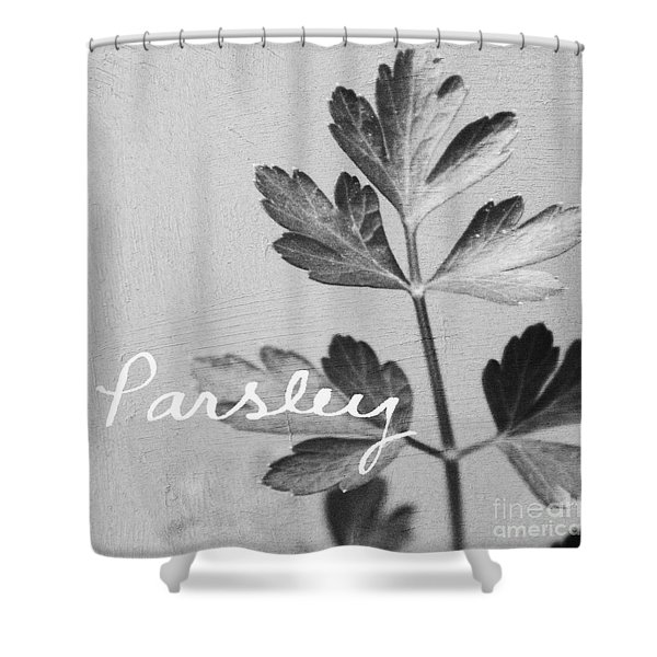 Parsley Shower Curtain