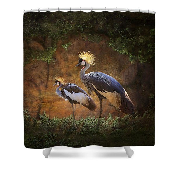 Partners In Paradise Shower Curtain