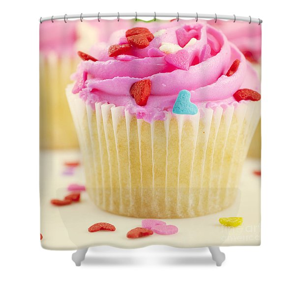 Party Cake Shower Curtain