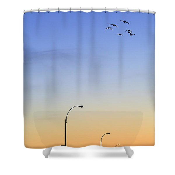 Passage Into Dawn Shower Curtain